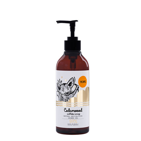 Yope Cedarwood & Bitter Orange Shower Gel - Gel de Ducha 400ml