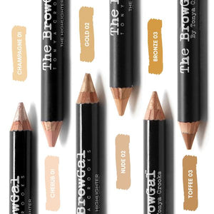 The Browgal Highlither Pencil - Lapiz Iluminador + Colores