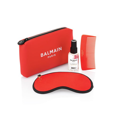 Balmain Limited Edition Cosmetic Bag Red SS21