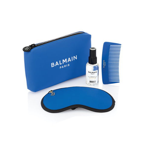 Balmain Limited Edition Cosmetic Bag Blue SS21