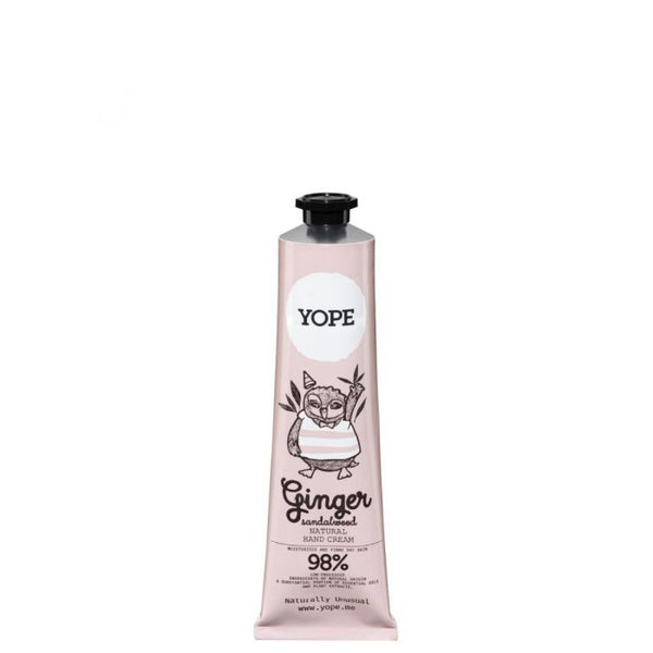 Yope Ginger & Sandalwood Hand Cream - Crema de manos 100ml