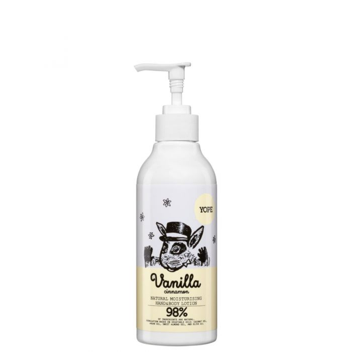 Yope Vanilla & Cinnamon Hand & Body Lotion - Crema Manos y Corporal 300ml