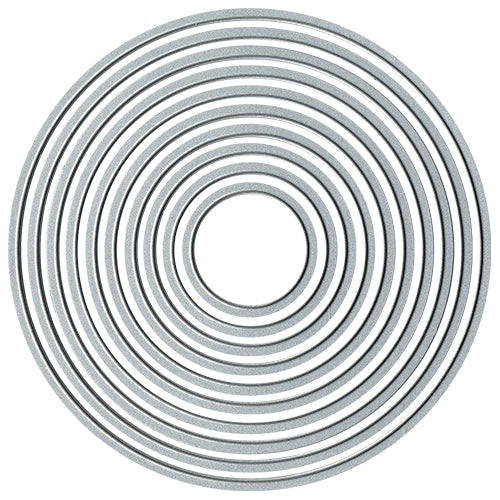 Cutting Dies:  CIRCLES 3.5cm - 12.5cm