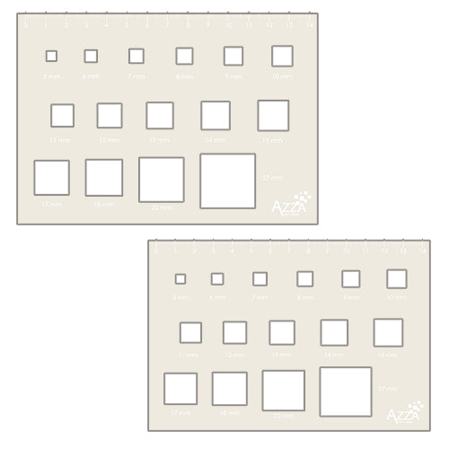 Decoration Stencil Duo: SQUARES