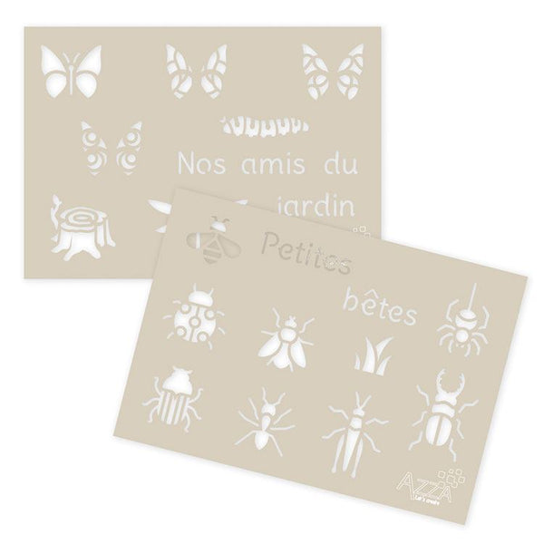 Decoration Stencil Duo: SMALL BEASTS