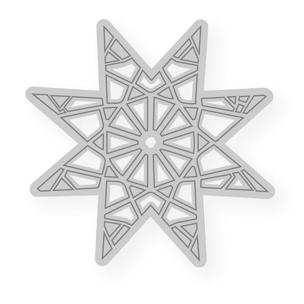 Cutting Dies:  WINDOWS Christmas Star