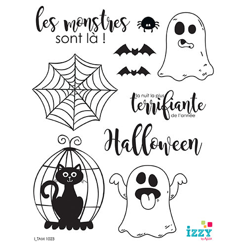 Stamp Set - Large:  HALLOWEEN
