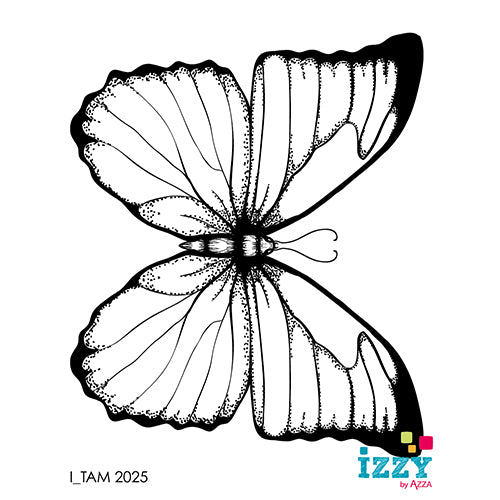 Stamp Set - Ruby:  BUTTERFLY