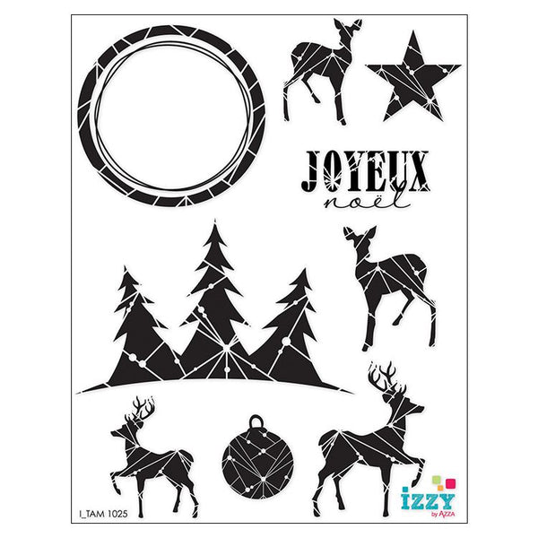 Stamp Set - Large:  CHRISTMAS STAR