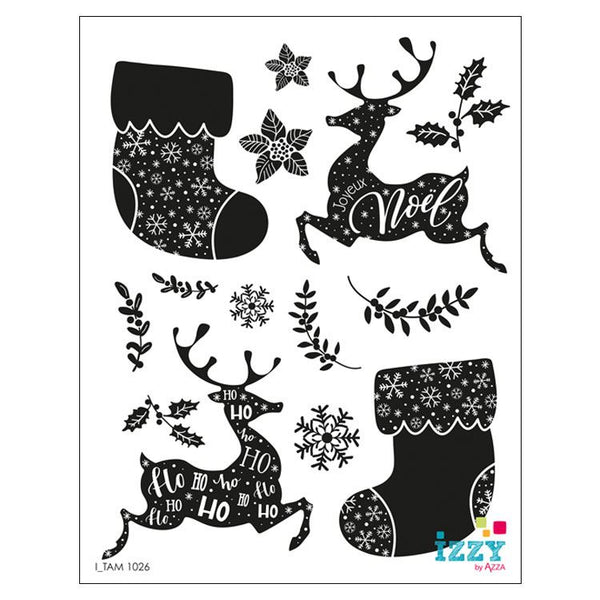 Stamp Set - Large:  OH DEER