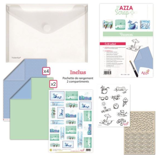 Theme Kit: AZZA scrap PLUS Vacation