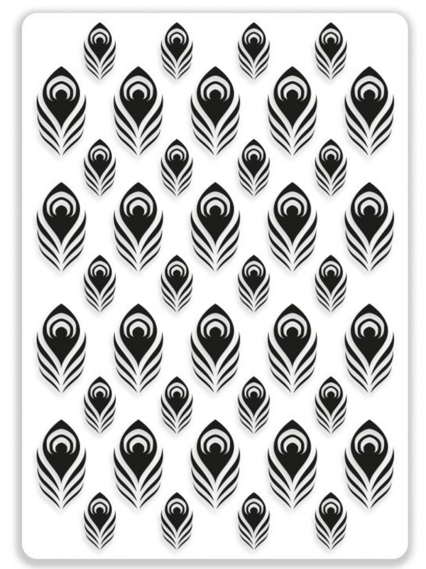 Embossing Folder - FEATHERS