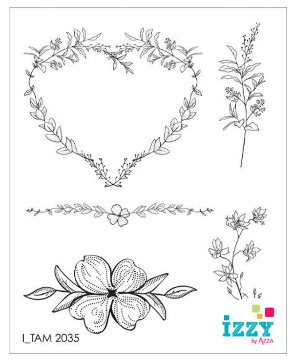 Stamp Set - Ruby: TWIGS