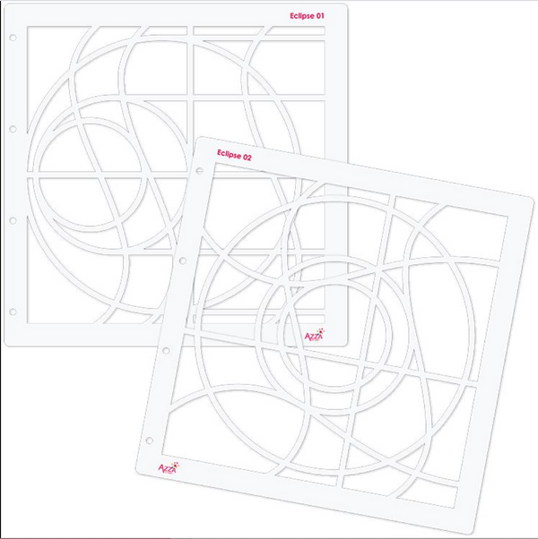 Stencil Duo: ECLIPSE (30 x 30)