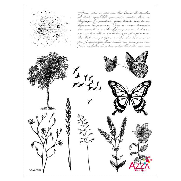 Stamp Set - Large:   SILHOUETTE