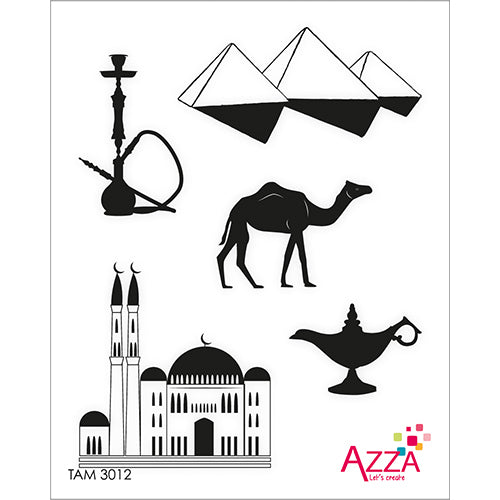 Stamp Set - Ruby:  MIDDLE EAST