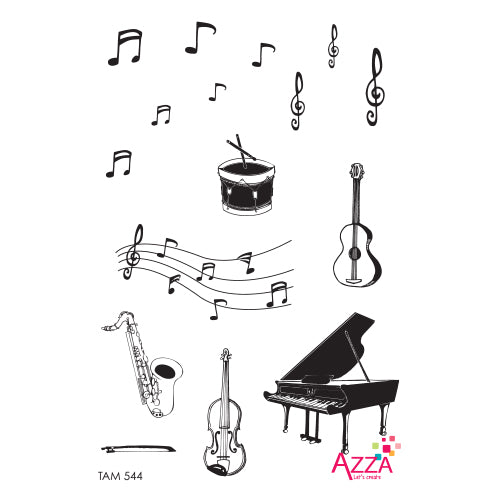 Stamp Set - Medium:  MUSIC