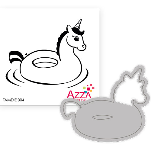 Stamp and Cutting Die Set: UNICORN FLOATIE