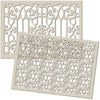Texture Stencil Duo:  WROUGHT IRON
