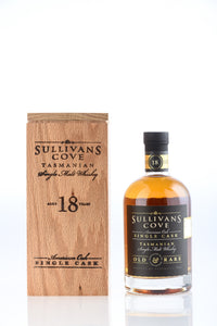 Sullivan's Cove 18 Year Old American Oak Cask HH0296