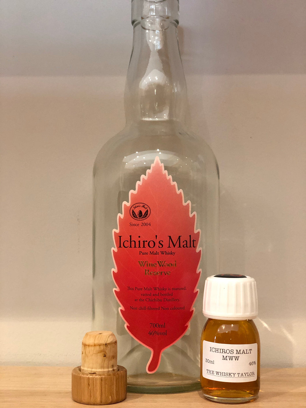 (30ml Bottle) Ichiros Wine Wood Reserve