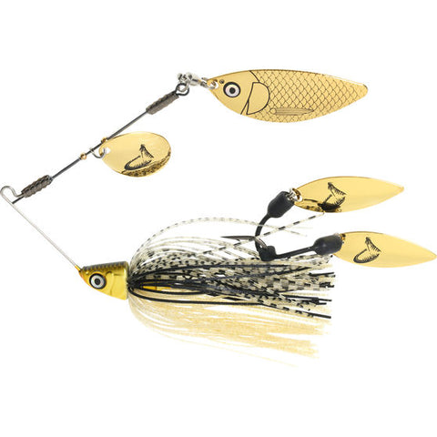SAVAGE FLEX 24K GOLD SPINNER BAIT LURE