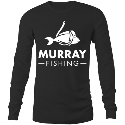 MURRAY FISHING LONG SLEEVE TEE BLACK