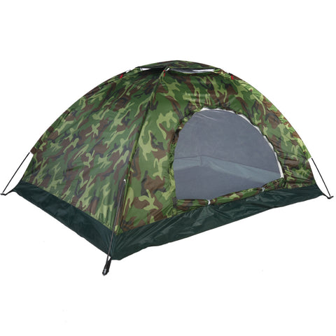 1-4 Person Portable Outdoor Camping Camouflage Tent Outdoor - Murrayfishing