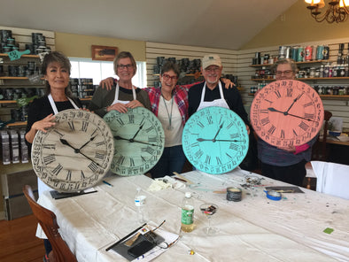 April 20th 2018-Vintage Clock Class!