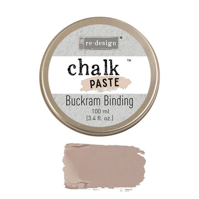REDESIGN CHALK PASTE - BUCKRAM BINDING