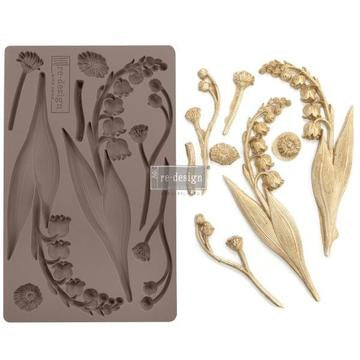 PRIMA REDESIGN  DECOR MOULDS - BELL ORCHIDS