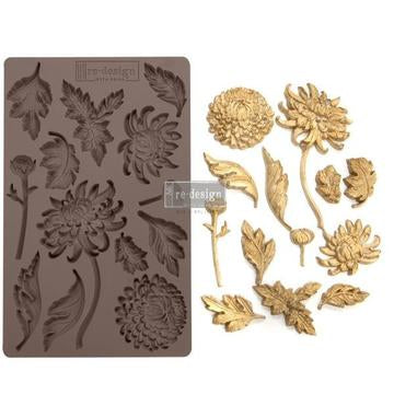 REDESIGN DECOR MOULDS - BOTANIST FLORAL