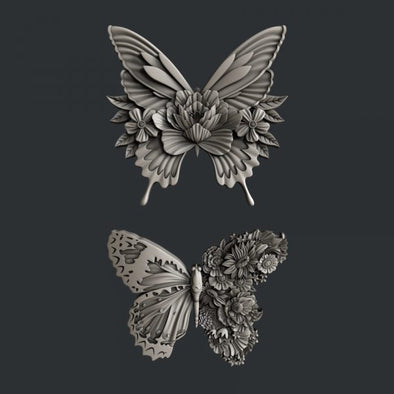MOLD - ZURI BUTTERFLY DANCE MOLD