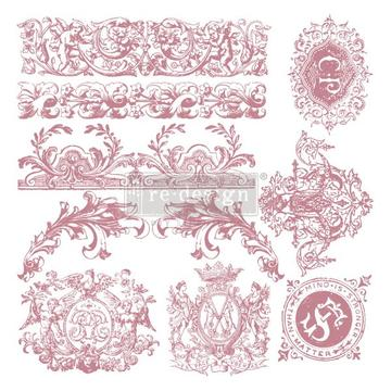 REDESIGN PRIMA CLEAR ALIGNED DÉCOR STAMPS - Chateau De Maisons