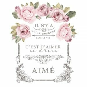 REDESIGN DECOR TRANSFERS - DANS LA VIE