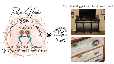 2021 FEBRUARY 27th BLENDING PAINT ON FURNITURE & MORE