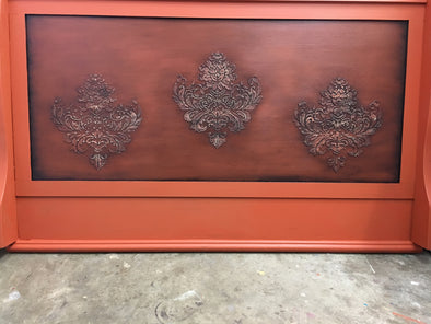 2019 May 14th Transformation of sleigh headboard