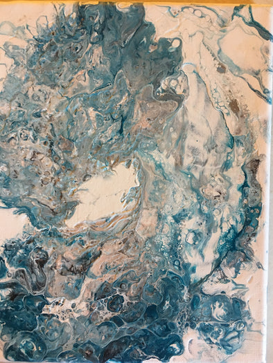 2018-September 5th LET'S Do a PAINT POUR!!!! $65.00