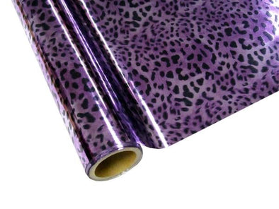 FOIL LEOPARD - PURPLE
