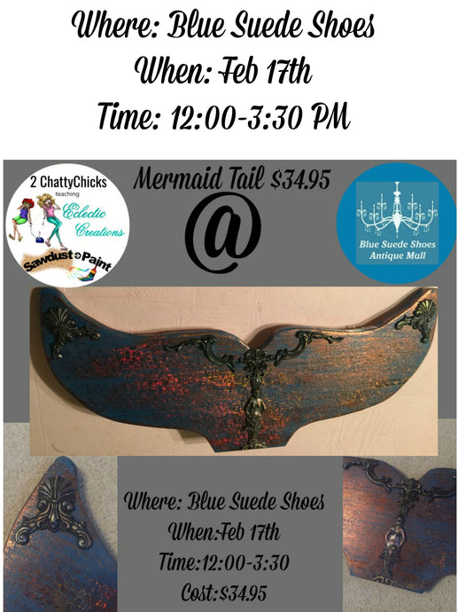 February 17th - Mermaid Tail Create & Take Class