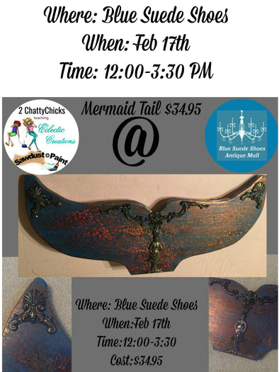 February 17th 2018-Mermaid Tail Create & Take