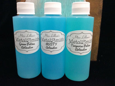Miss Lillian's Metal Smith Individual Patina Activator Spray
