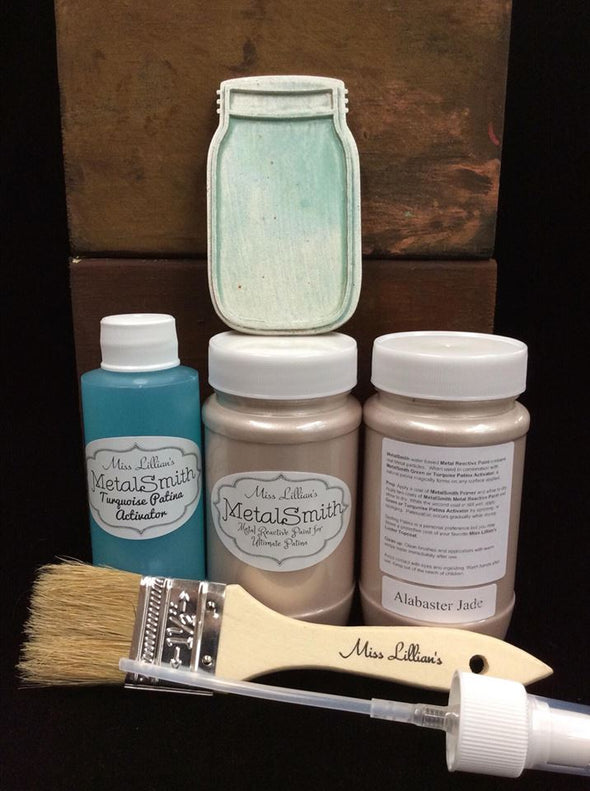 Miss Lillian's Metal Smith Reactive Patina Kits