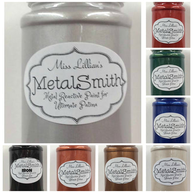 Miss Lillian's Metal Smith Reactive Paints