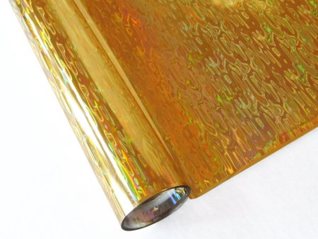 WATERFALL GOLD HOLOGRAPHIC FOIL | Artistic Painting Studio