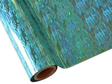 WATERFALL TEAL HOLOGRAPHIC FOILS  | Artistic Painting Studio