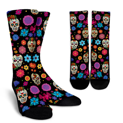 Sugar Skull Party Socks