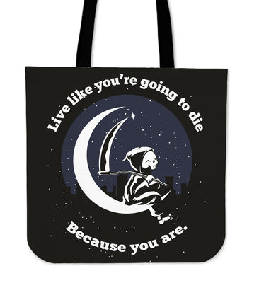 Life Is Hard Tote Bag