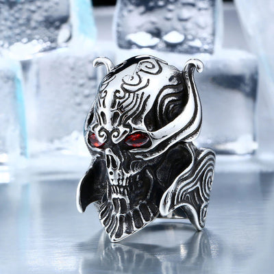 Skull War Head Ring For Men