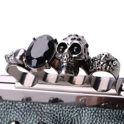 Skull Rivet Bag For Women